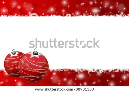 Christmas background illustration for greetings and decorations