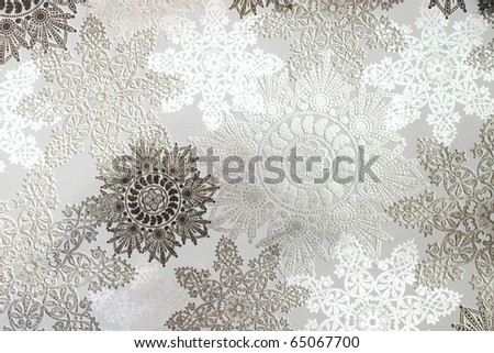 christmas background wrapping paper - stock photo