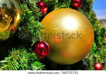 Christmas balls ornament - Colorful Noel