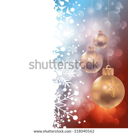 Christmas baubles. Christmas decoration. Pattern wallpaper. Holiday background.  Christmas Card. Christmas wallpaper. Christmas day. Christmas decor. Christmas ornaments  - stock photo
