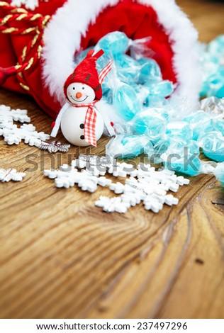 Christmas candy - stock photo