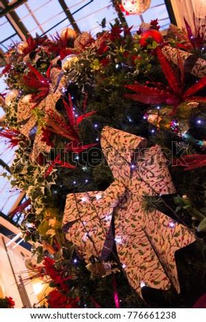 Christmas card samples xmas tree decorations stock photo edit now christmas card samples and xmas tree decorations m4hsunfo