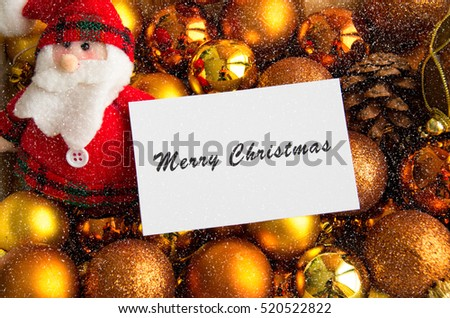 Christmas card with great colors