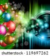 Christmas Club Party Background - Ideal for holiday discotheque event or party invitation poster. - stock