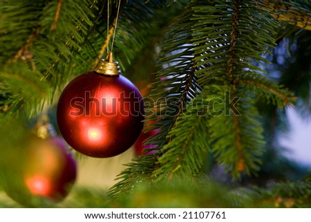 Christmas decoration 5. - stock photo