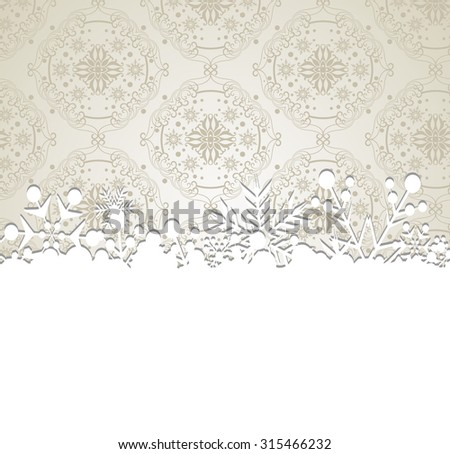 christmas decoration abstract illustration for your design holiday silver christmas background christmas day  christmas card christmas ornament christmas decoration christmas wallpaper     - stock photo