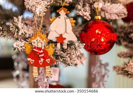 Christmas decoration for the advent season