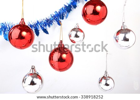 Christmas Decoration. Holiday Decorations - stock photo