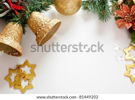 christmas decorations. - stock photo