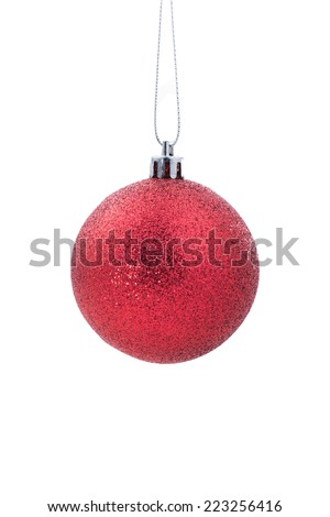 Christmas decorations and ornaments - stock photo