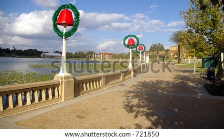 Christmas Decorations in Florida