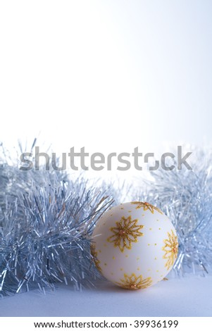 Christmas decorations into soft material
