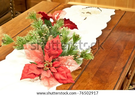 christmas decorative center piece