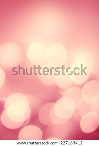 Christmas Defocused gold Bokeh light Vintage background. Elegant Abstract Christmas background  - stock photo