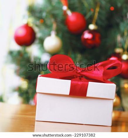 Christmas  gift boxes - stock photo