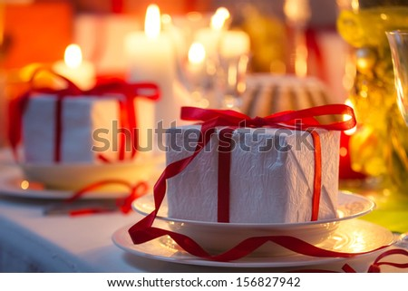 Christmas gift for everyone - stock photo