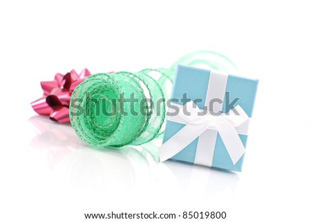 Christmas Gift for Her - stock photo