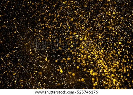 Christmas Glitter Lights Defocused Background