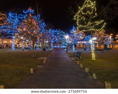 New Mexico Christmas Stock Images Royalty Free Images