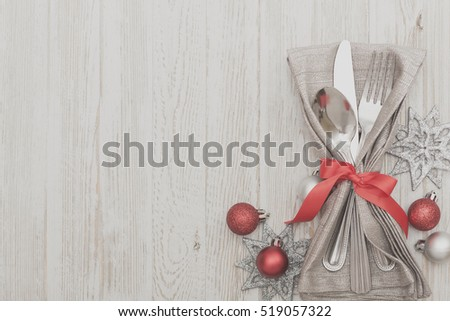 Table Setting Background christmas meal table setting background stock photo 519067306