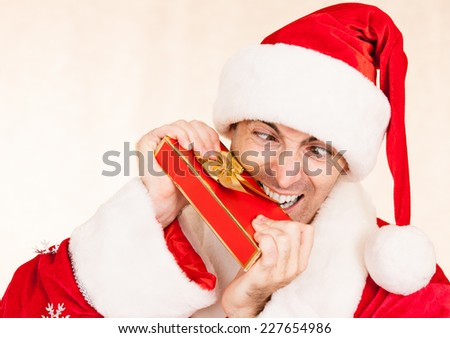 Christmas nightmare - stock photo
