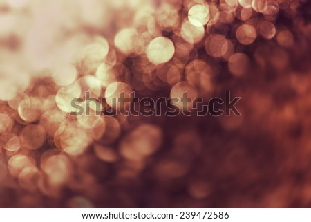 Christmas orange abstract background  - stock photo