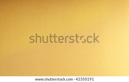 Christmas paper background  in gold - stock photo