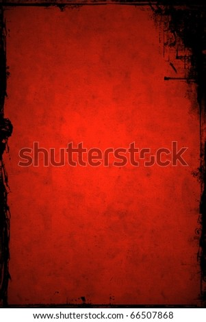 Christmas red grunge background - stock photo