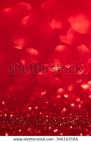 Christmas sparkling background - stock photo