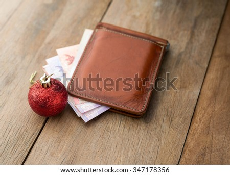 christmas spending concept - stock photo