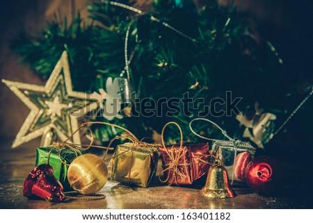 Christmas still life. - stock photo