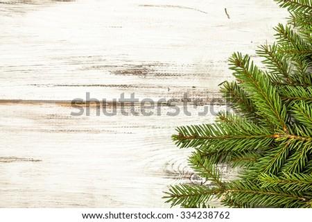 Christmas table. - stock photo
