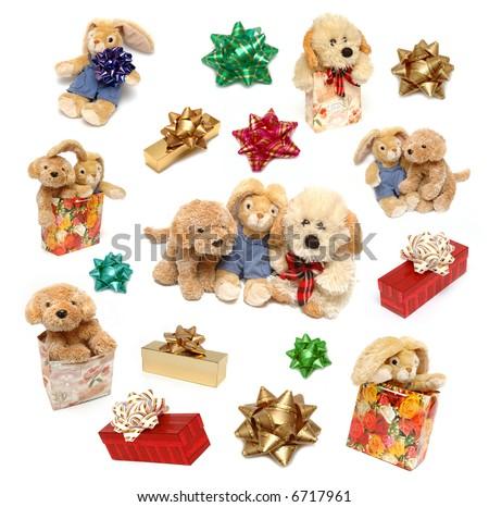 christmas toy - stock photo