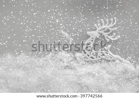 Christmas toy background - stock photo