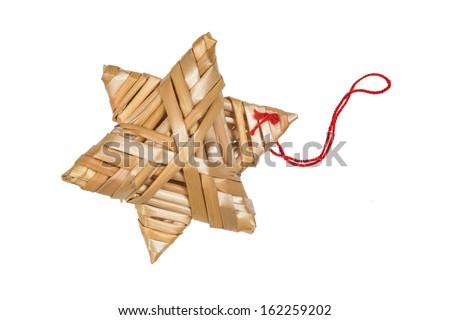 Christmas tree decoration. - stock photo