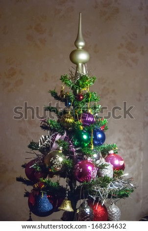 christmas tree decoration - stock photo