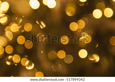 Christmas tree lights as background