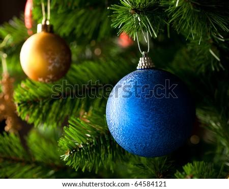 Christmas-tree ornament - stock photo