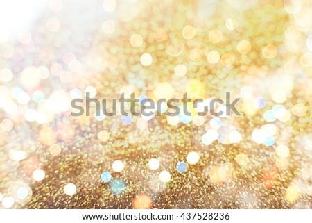Christmas wallpaper decorations concept.xmas holiday festival backdrop:sparkle circle lit celebrations display. - stock photo