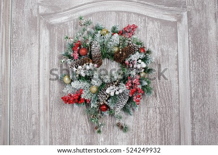Wreath Background Stock Images, Royalty-Free Images ...