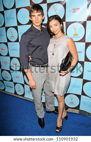 Christopher Gorham and Anel Lopez Gorham at the party for the 2007 Primetime Emmy Nominees. One Sunset, West Hollywood, CA. 09-09-07