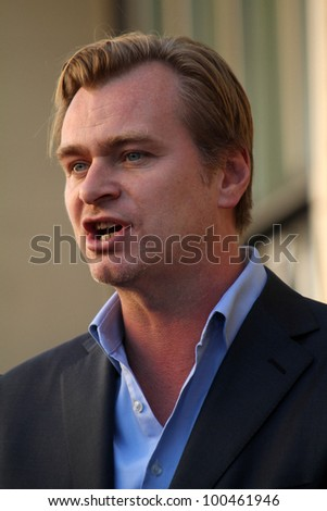 Christopher Nolan  at Hans Zimmer Honored With Star On The Hollywood Walk Of Fame, Hollywood, CA. 12-08-10