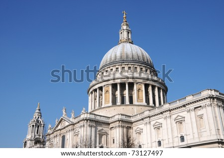 Christopher Wrens St Pauls Cathedral in London
