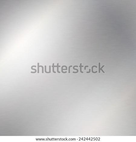 chrome background metal texture - stock photo