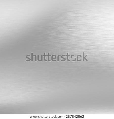 chrome metal  texture bright gray background  - stock photo