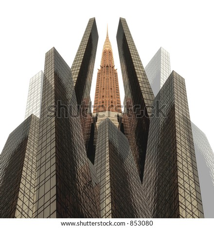 Chrysler Building in New York.