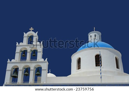 Church and Bells - stock photo