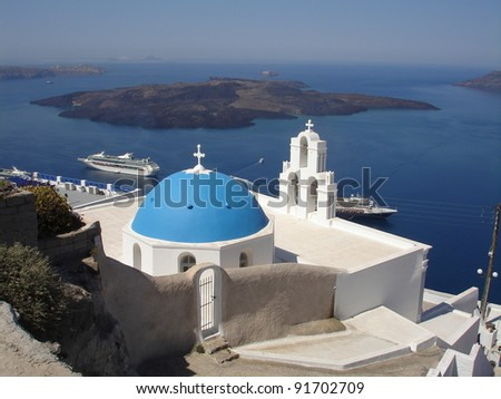 Church at Santorini,Greece