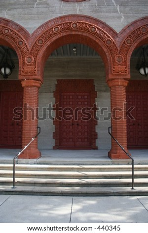 Church door and Arches