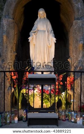 Church Grotto - stock photo